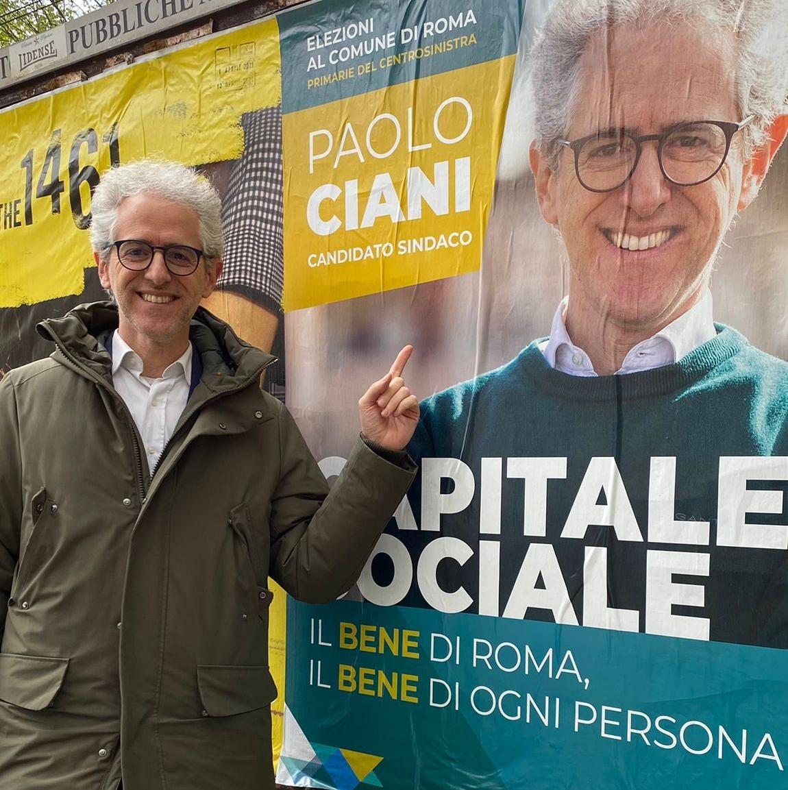 Primarie di coalizione Roma. Paolo Ciani candidato.