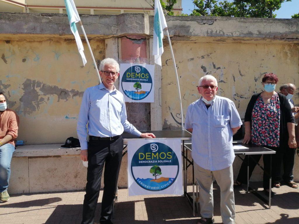 Paolo Ciani candidato alle primarie per il sindaco di Roma e Franco De Donno candidato alle primarie di presidenza del municipio X